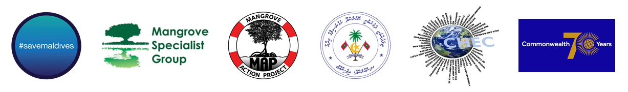 collective supporting World Mangrove Day Maldives